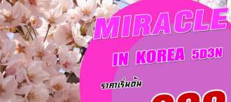 MIRACLE IN KOREA 5D3N LJ 0